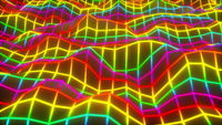 Digital mesh waves abstract background.