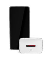 Mobile wifi router and smartphone