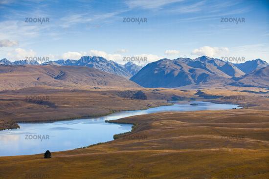 Mackenzie country. Newzealand