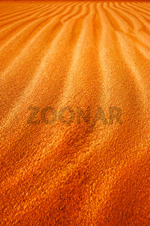 Abstract texture of sand dune in desert