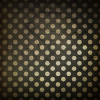 Black polka dot grunge background