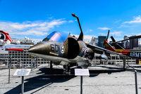 British Aerospace AV-8C Harrier Aircraft in Intrepid museum in New York
