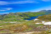 Summer landscape of the highland