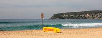 Life saving board, Manly beach.