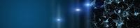Futuristic plexus panorama background design illustration with light