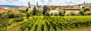 View of the city of Bamberg from Michaelsberg