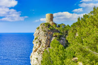 The Torre del Verger is an old watchtower in the municipality of Banyalbufar on Mallorca.