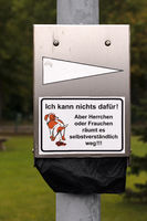Signs in Eckernfoerde. 005