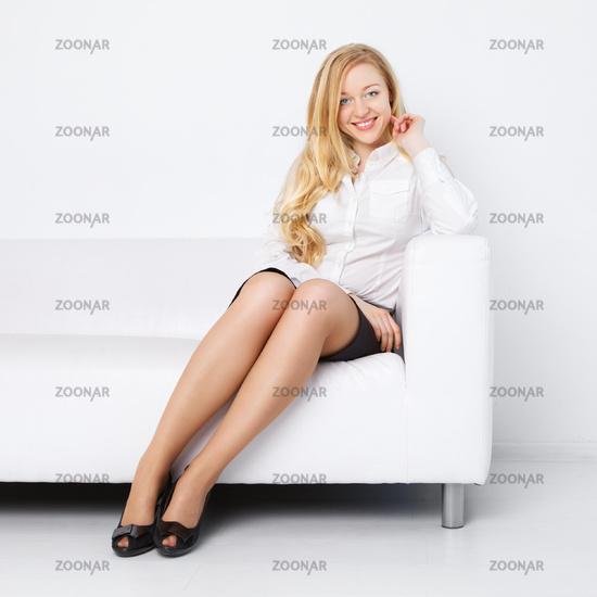 Office Girl Relax