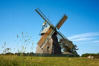 Windmill on the island of Amrum