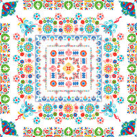 Hungarian embroidery pattern 90