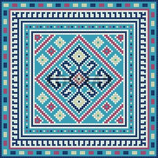 Georgian embroidery pattern 15