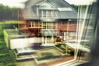Blick aus den Fenster