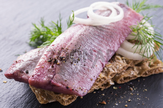 herring marinated