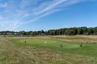 Golf Course in Jaegersborg Deer Park, Copenhagen