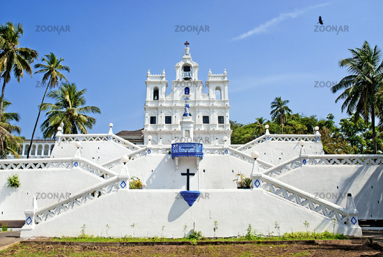 Church of Mary Immaculate Conception in panaji goa