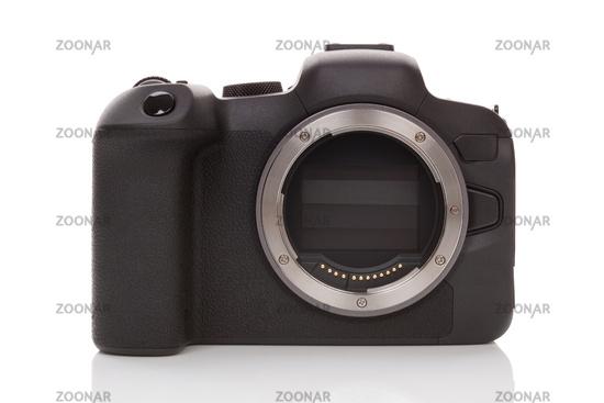 Mirrorless camera technology.