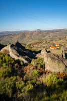 Sortelha nature landscape view, in Portugal