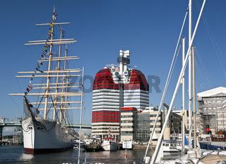 Hafen Lilla Brommen, Göteborg, Schweden