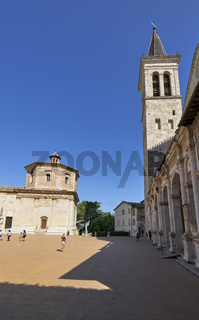 Spoleto Umbria Italy. The Cathedral