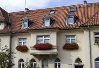 Sülzgürtel, House facade, Cologne-Sülz, NRW, Rhineland