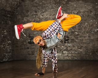 Hip Hop Tänzerin