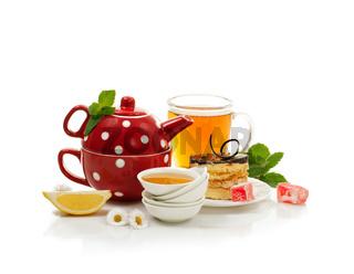 Still-life with breakfast