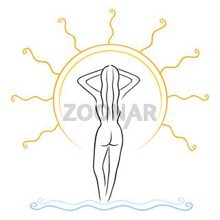 Tanning symbol