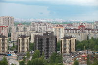 new buildings of the big city
