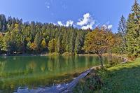 Lake St.Ana, Dolomites, Italy