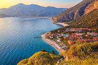 The Beach at Lykia World Oludeniz, Turkey