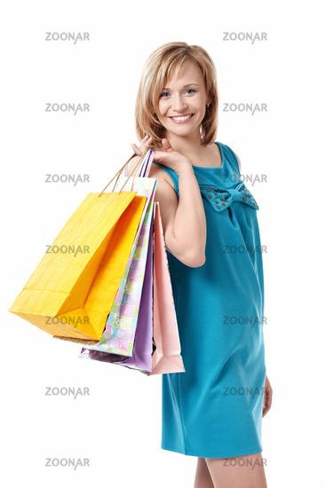 Girl with a bag
