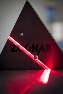 3D laser scanning beam