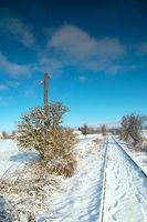 Winter at Uckermark - Germany
