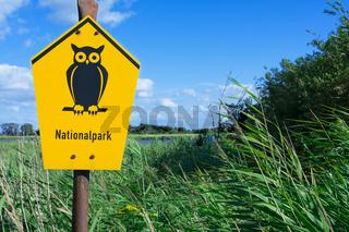 Schild Nationalpark