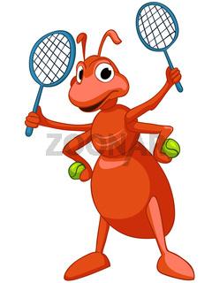 Cartoon Character Ant