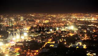 Metro Cebu at night