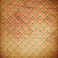 Vintage grunge hearts background.
