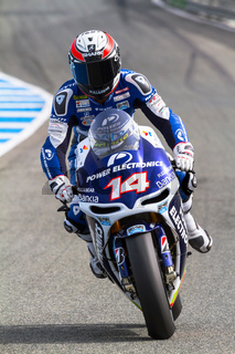 Randy de Puniet pilot of MotoGP
