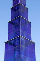 Glass sculpture in Berlin. Germany