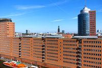 Hamburg, Columbus Haus, Hanseatic Trade Center, Germany