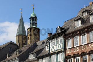 Goslar - Altstadt mit Marktkirche, Deutschland