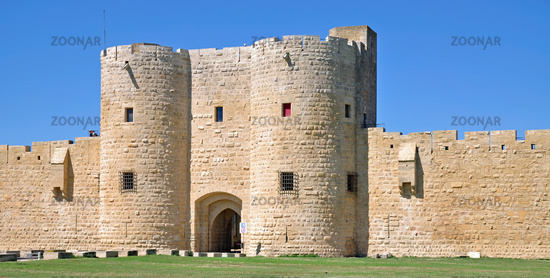 City Walls of Aigues-Mortes in the Camargue