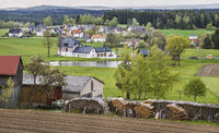 Upper Franconian village view