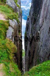 Canyon on the mountain