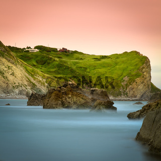 Cliff at Jurassic Coast, Dorset, England