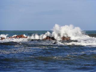 La Spiaggetta an der Westküste von Sardinien bei Cardedu