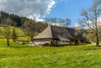 Traditional farm house in Black Forest, Baden-Wuerttemberg, Germany