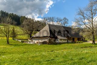 Traditioneller Bauernhof im Schwarzwald, Baden-Württemberg, Deutschland