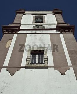 Historischer Kirchturm in Silves, Algarve - Portugal